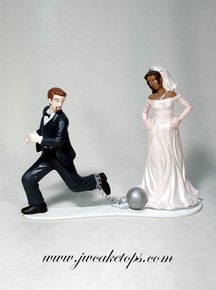 Ball and Chain Cake Top