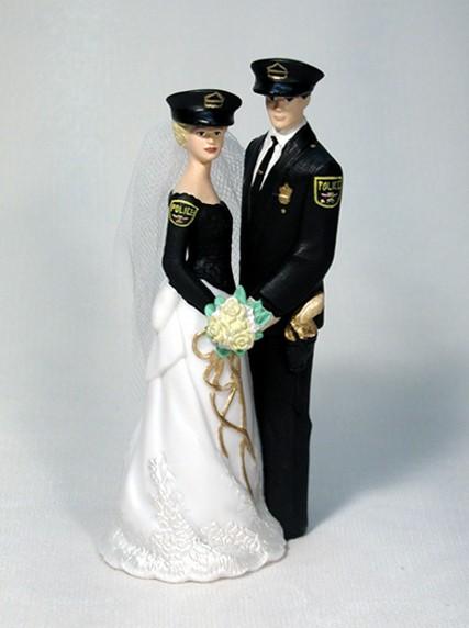 Police Cake Top