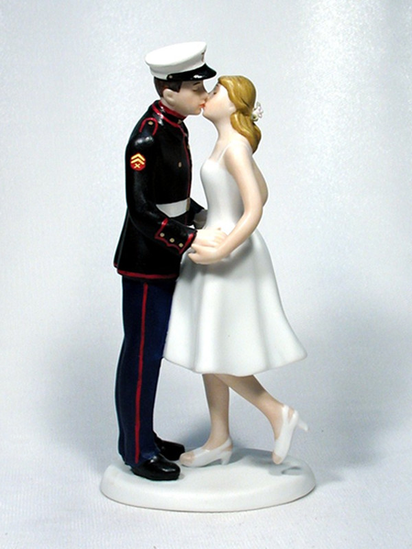 Leg Pop Marine Enlisted Cake Top